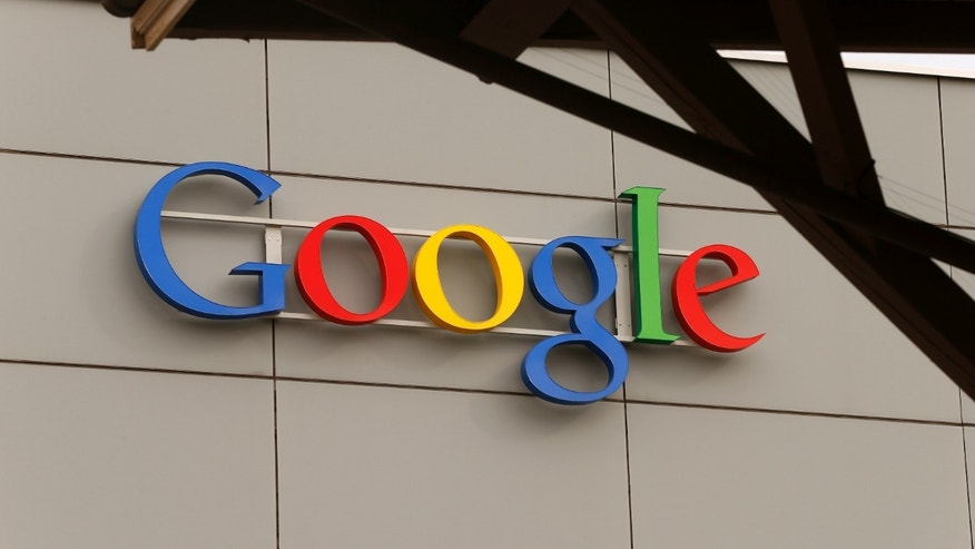 A logo is pictured at Google's European Engineering Center in Zurich April 16, 2015.