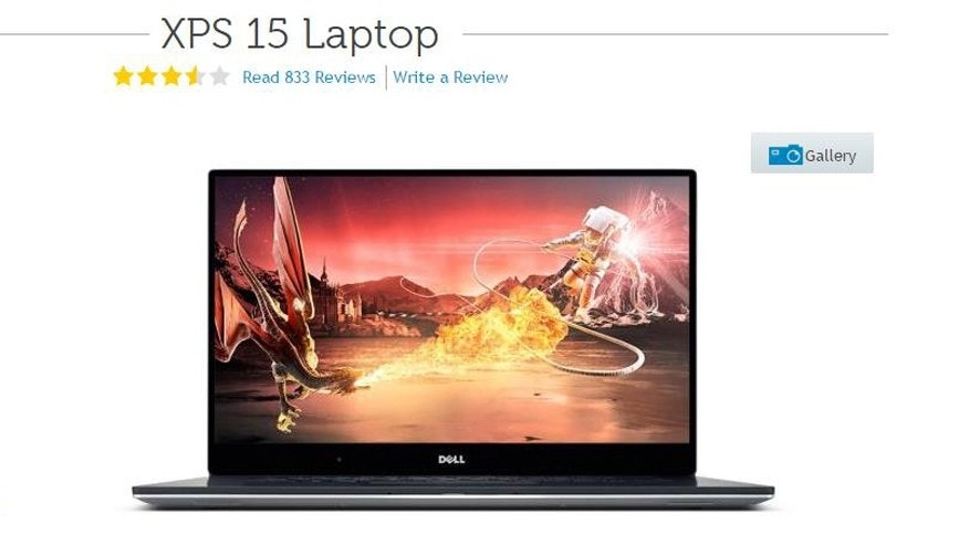 Screenshot from www.dell.com