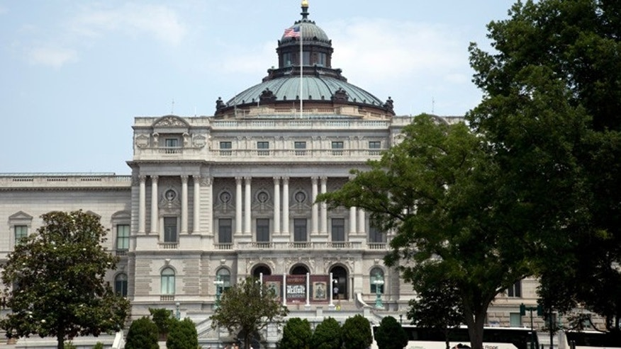The Library of Congress Thomas Jefferson Building.