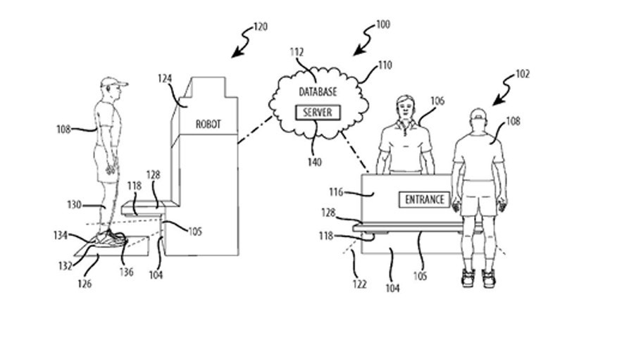 Disney theme parks could harness foot recognition technology