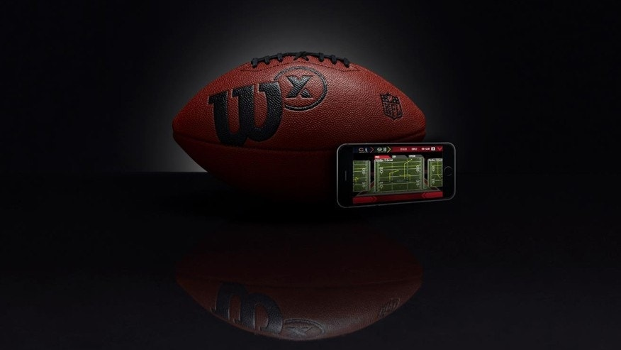 Wilson Smart Football First And Long In The High Tech
