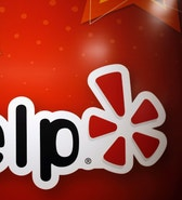 The Yelp Inc. logo is seen in their offices in Chicago, Illinois, March 5, 2015. REUTERS/Jim Young (UNITED STATES - Tags: BUSINESS SCIENCE TECHNOLOGY) - RTR4S86H