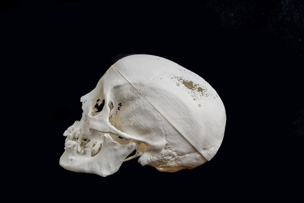 Egyptian mummy's face recreated with 3D printing