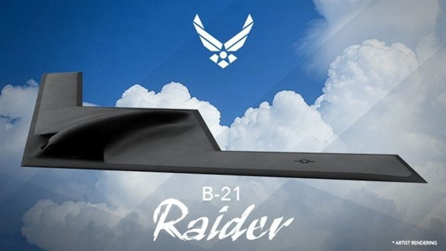 New B-21 bomber named 'Raider' - US Air Force