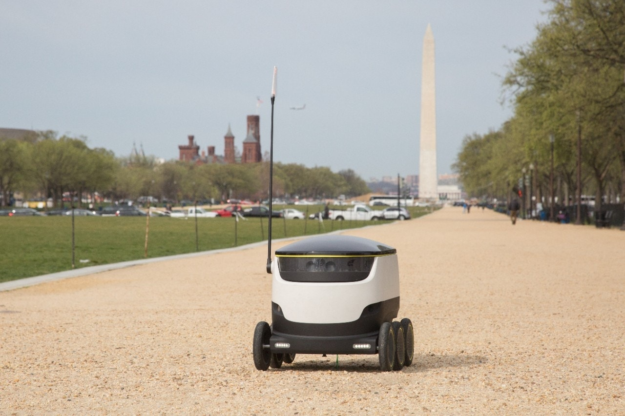 Robots will soon be delivering groceries in Washington, DC