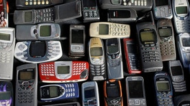 A collection of mobile phones made by Nokia is pictured in this file photo illustration, May 8, 2012. REUTERS/Kacper Pempel/Illustration/File Photo - RTX2FWUB