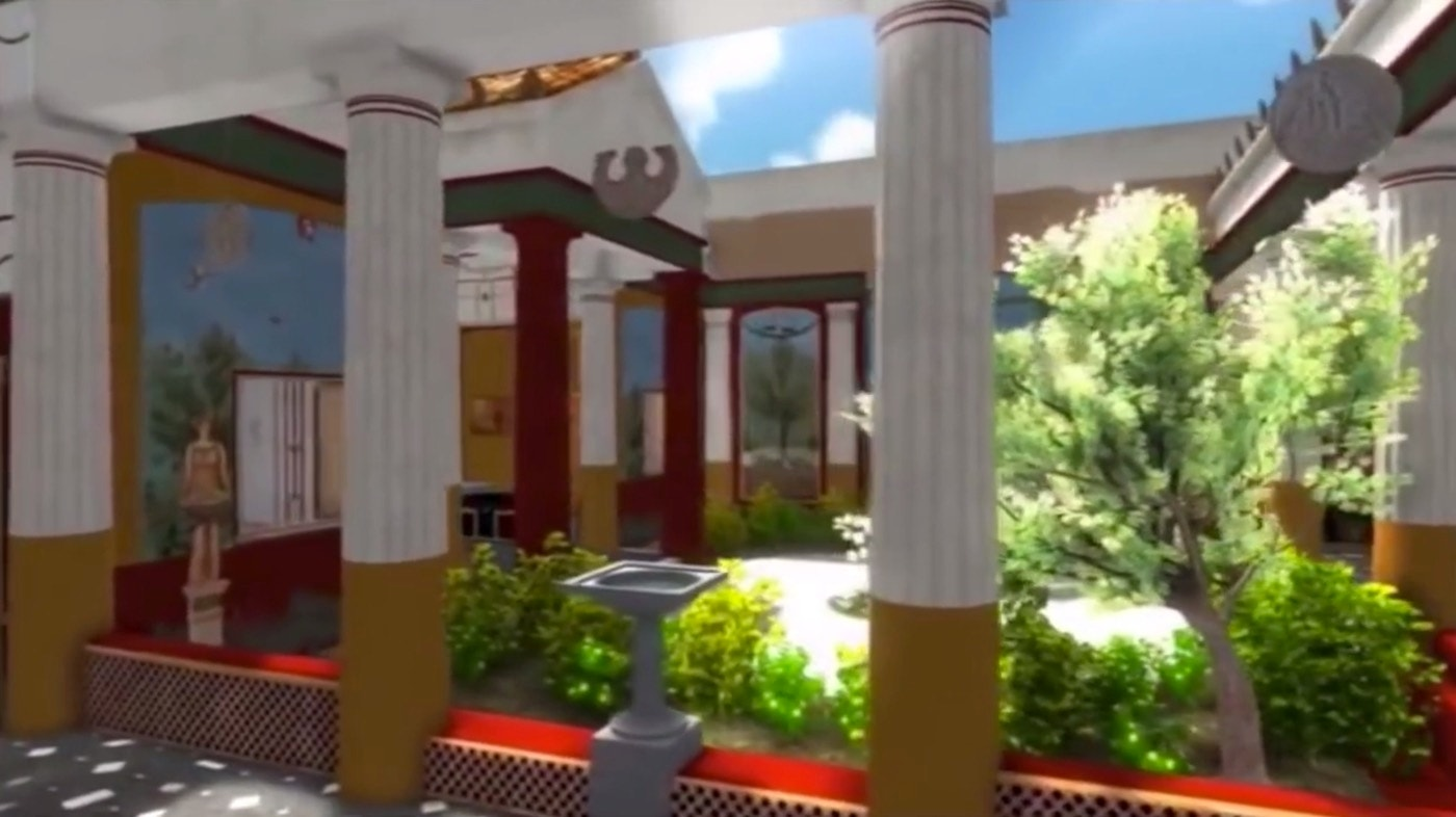 2 000 Year Old Pompeii Home Reconstructed In 3d Fox News