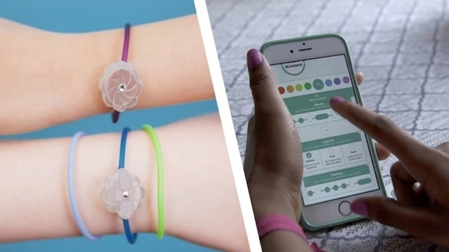 Jewelbots are friendship bracelets that also teach kids how to code.