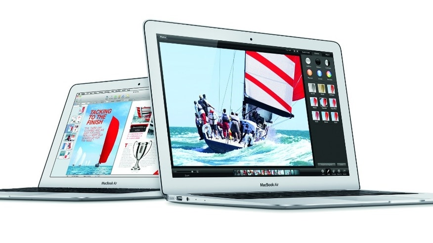MacBook Air computers from 2014.
