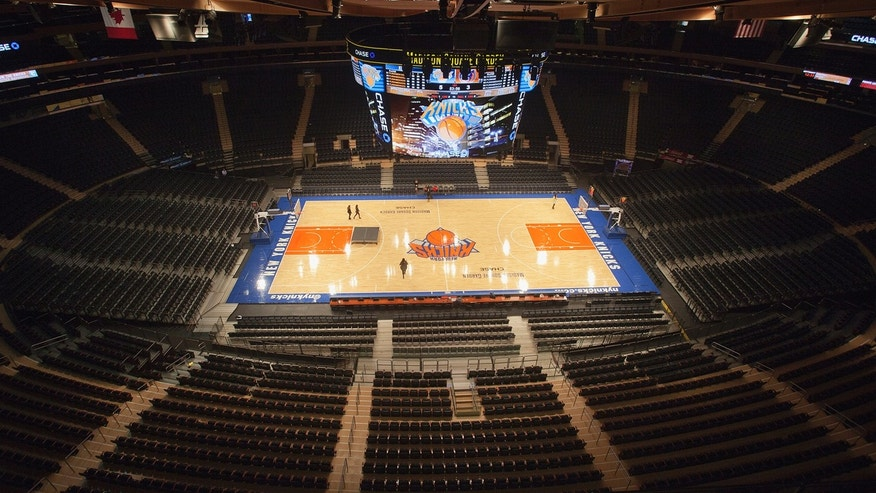 Madison Square Garden is pictured in New York.