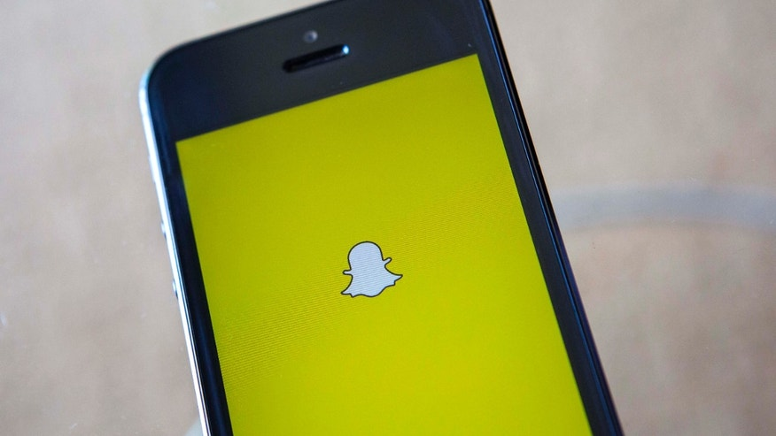 File photo - A portrait of the Snapchat logo in Ventura, California Dec. 21, 2013. (REUTERS/Eric Thayer)