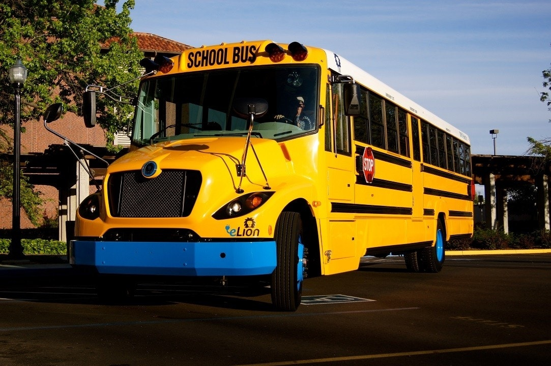 School Buses Get an Electric Facelift