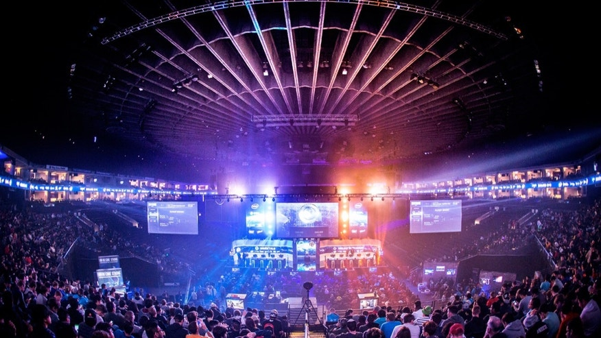 File photo - last November's Intel Extreme Masters (IEM) event at Oakland's Oracle Arena (Credit: ESL).