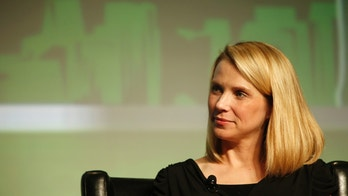 Yahoo! Chief Executive Marissa Mayer listens in a Startup Battlefield session during TechCrunch Disrupt SF 2012 at the San Francisco Design Center Concourse in San Francisco, California September 12, 2012. REUTERS/Stephen Lam (UNITED STATES - Tags: BUSINESS SCIENCE TECHNOLOGY) - RTR37WLI