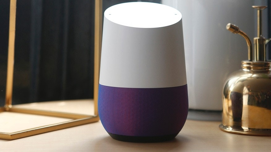 Google Home is displayed during the presentation of new Google hardware in San Francisco, California, U.S. October 4, 2016. (REUTERS/Beck Diefenbach)