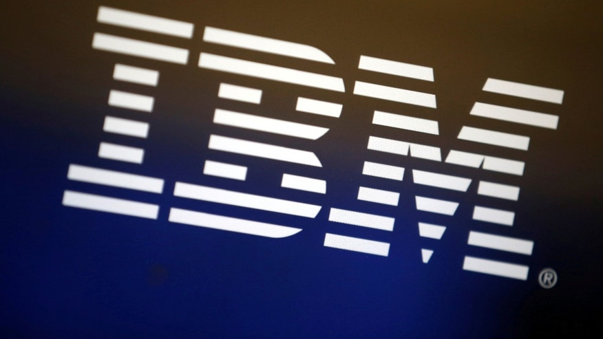 The logo of IBM is seen on a computer screen in Los Angeles, California, United States, April 22, 2016. (REUTERS/Lucy Nicholson/File Photo)
