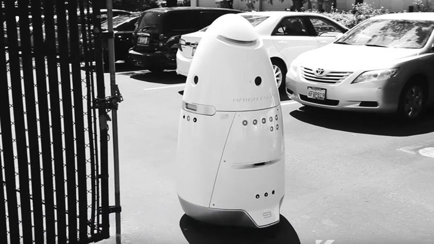 Man Knocks Down Security Robot, Ends Up in Jail