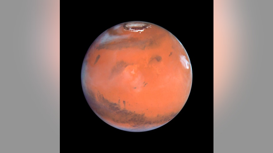 File photo - This 1999 Hubble telescope image shows Mars when Mars was 54 million miles from Earth. (REUTERS/NASA/Handout)