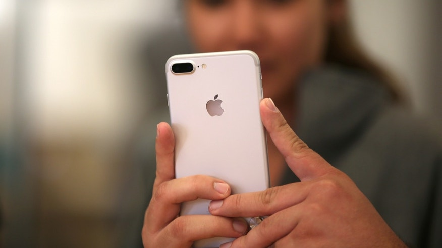Apple reported a drop in sales of iPhone