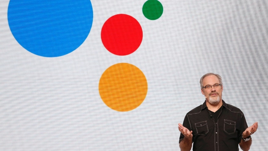 Scott Huffman, Engineering Director at Google, speaks about Google Assistant during the presentation of new Google hardware in San Francisco, California, U.S. October 4, 2016.   REUTERS/Beck Diefenbach - RTSQR06