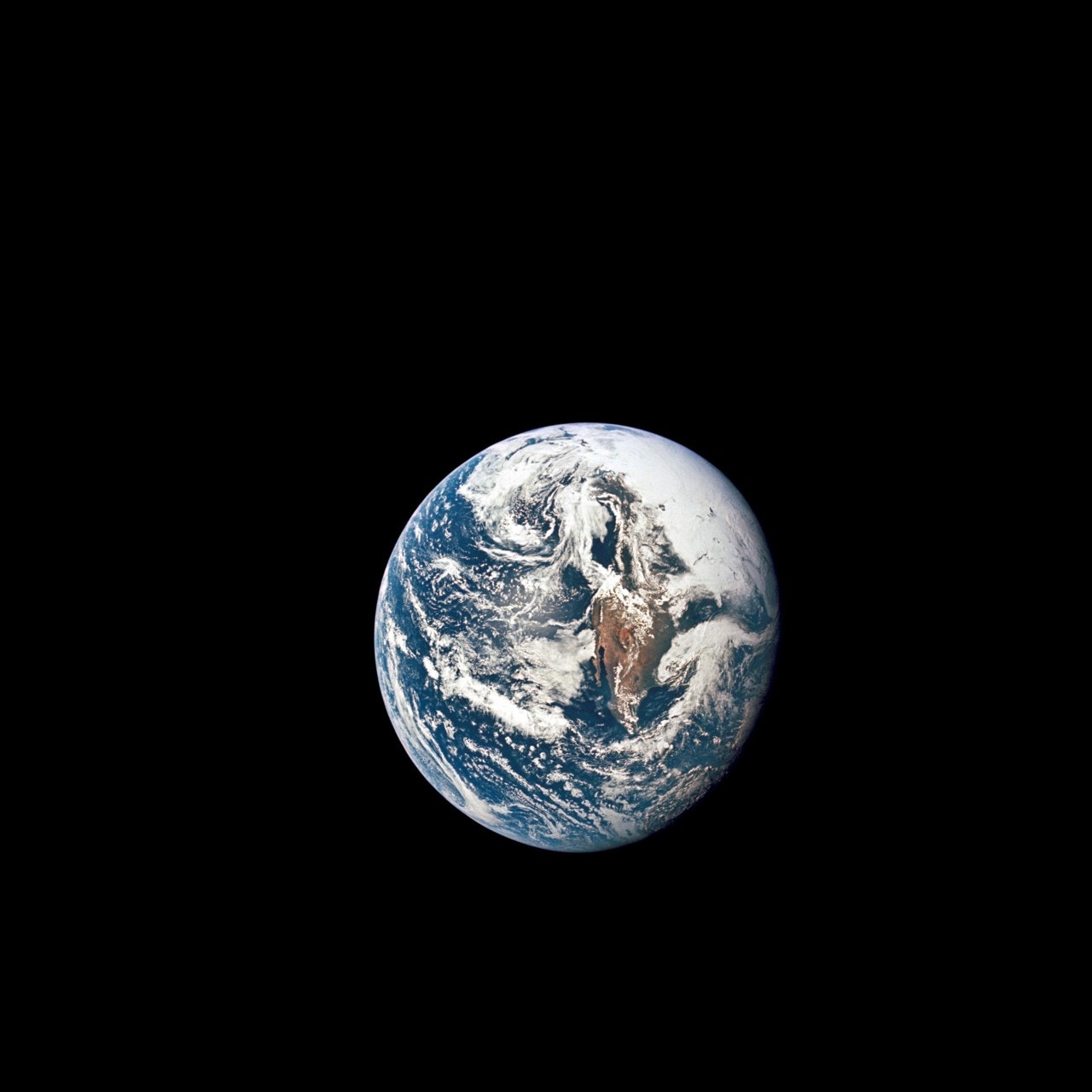 NASA showed off an image of what Earth looked like in 1969