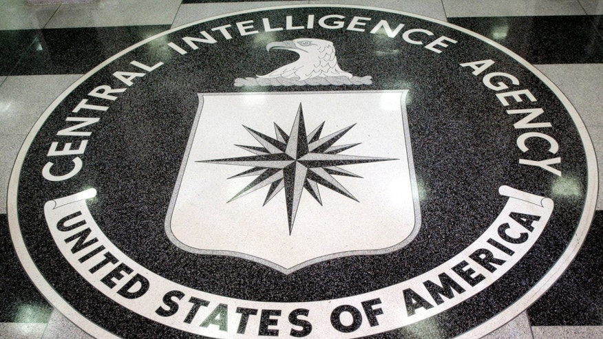 File photo - The logo of the U.S. Central Intelligence Agency is shown in the lobby of the CIA headquarters in Langley, Virginia March 3, 2005 (REUTERS/Jason Reed JIR)
