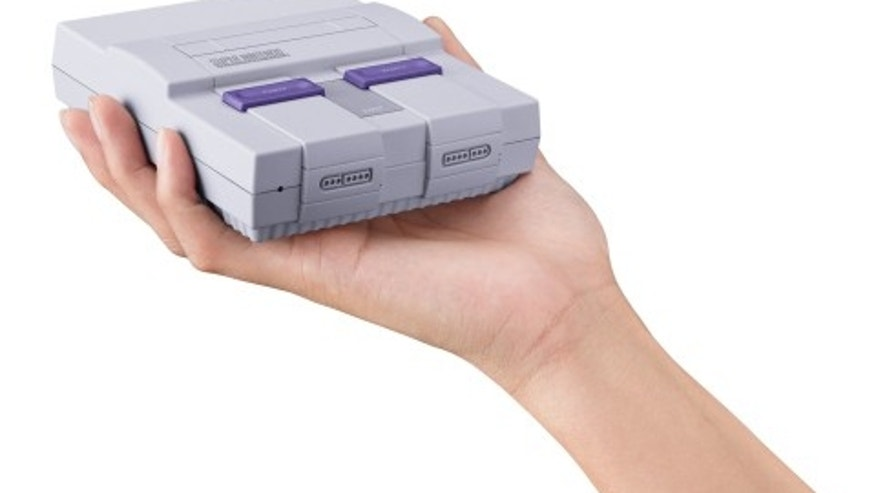 The Super Nintendo Entertainment System: Super NES Classic Edition  (Photo: Business Wire)