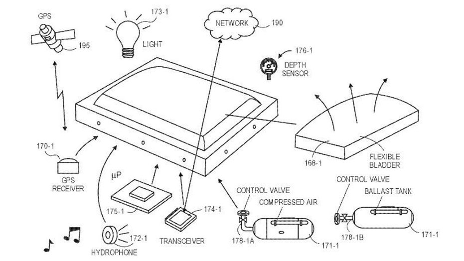 Amazon patent, (Credit: USPTO)