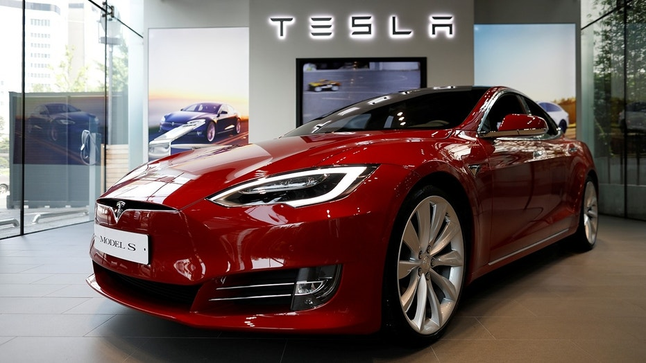 File photo: A Tesla Model S electric car is seen at its dealership in Seoul, South Korea July 6, 2017. (REUTERS/Kim Hong-Ji)