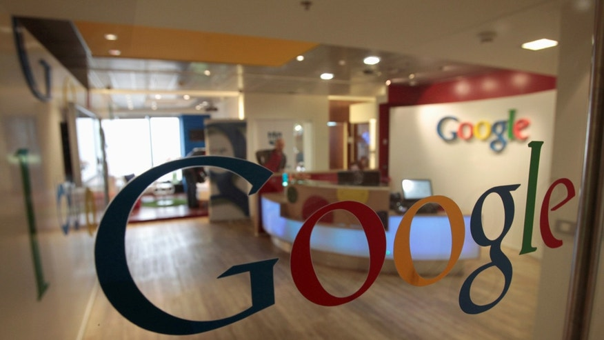 File photo: The Google logo is seen on a door at the company's office in Tel Aviv January 26, 2011. (REUTERS/Baz Ratner)