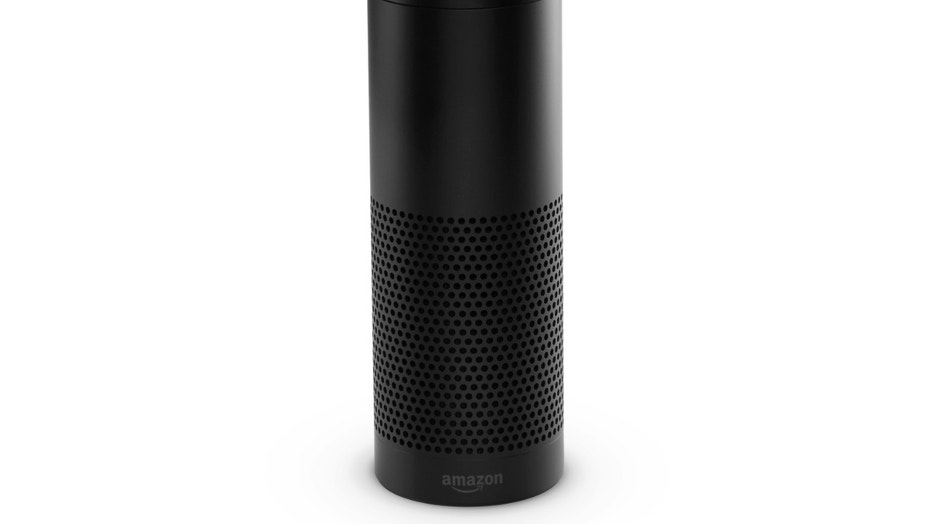 This product image provided by Amazon shows the Amazon Echo.