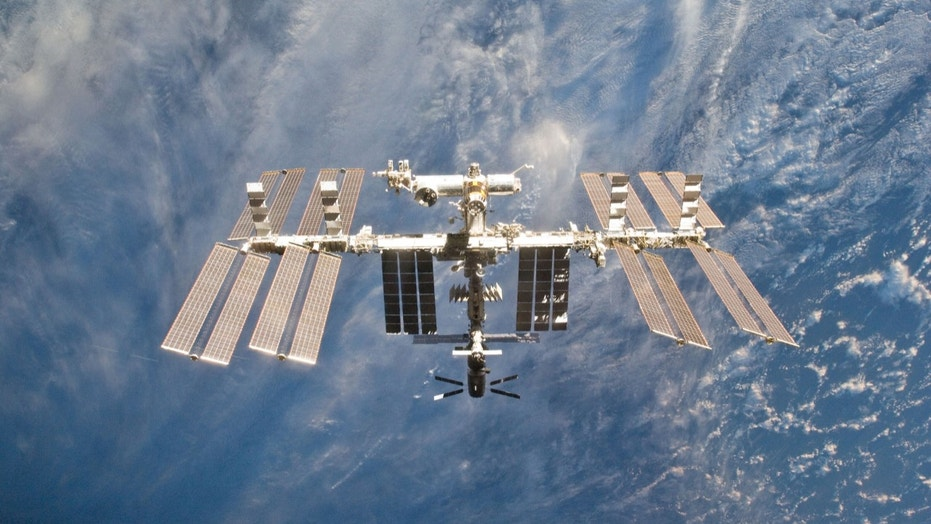 File photo - The International Space Station is seen in this view from the space shuttle Discovery after the undocking of the two spacecraft in this photo provided by NASA and taken March 7, 2011. (REUTERS/NASA/Handout)