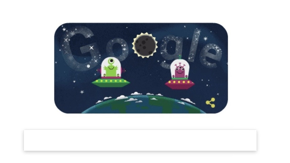 Google celebrated the long-awaited Great American Solar Eclipse with an animated doodle on Aug. 21, 2017.