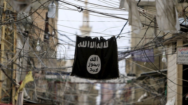 isis flag reuters