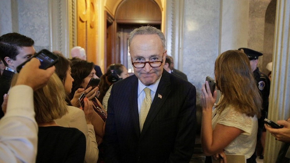 File photo: Bots are turning their sights on the season's hottest toys and games, driving up the costs for people, said Sen. Chuck Schumer. (REUTERS/Joshua Roberts)