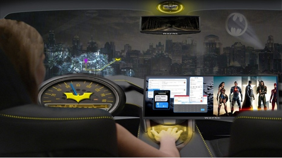 Intel Corporation and Warner Bros. announced a collaboration to develop in-cabin, immersive experiences in autonomous vehicle settings during Automobility LA on Wednesday, Nov. 29, 2017, in Los Angeles. Called the AV Entertainment Experience, Intel will create a first-of-its-kind proof-of-concept car to demonstrate what entertainment in the vehicle could look like in the future. (Credit: Warner Bros.)