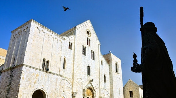 The Basilica di San Nicola is a church in Bari, southern Italy