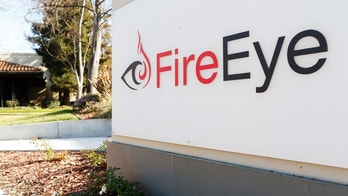 The FireEye logo is seen outside the company's offices in Milpitas, California, December 29, 2014. FireEye is the security firm hired by Sony to investigate last month's cyberattack against Sony Pictures. Picture taken December 29.     REUTERS/Beck Diefenbach (UNITED STATES - Tags: BUSINESS SCIENCE TECHNOLOGY CRIME LAW LOGO) - GM1EB1200Q601