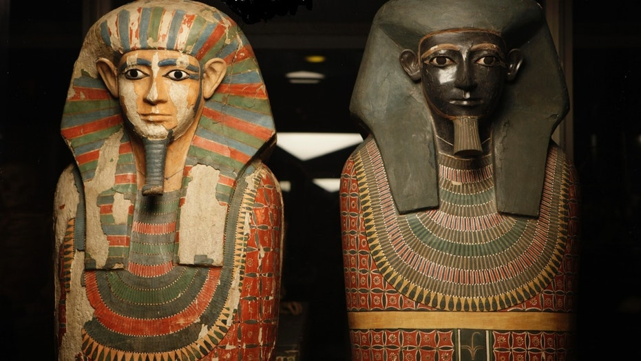 The 'Two Brothers' mummies (The University of Manchester).