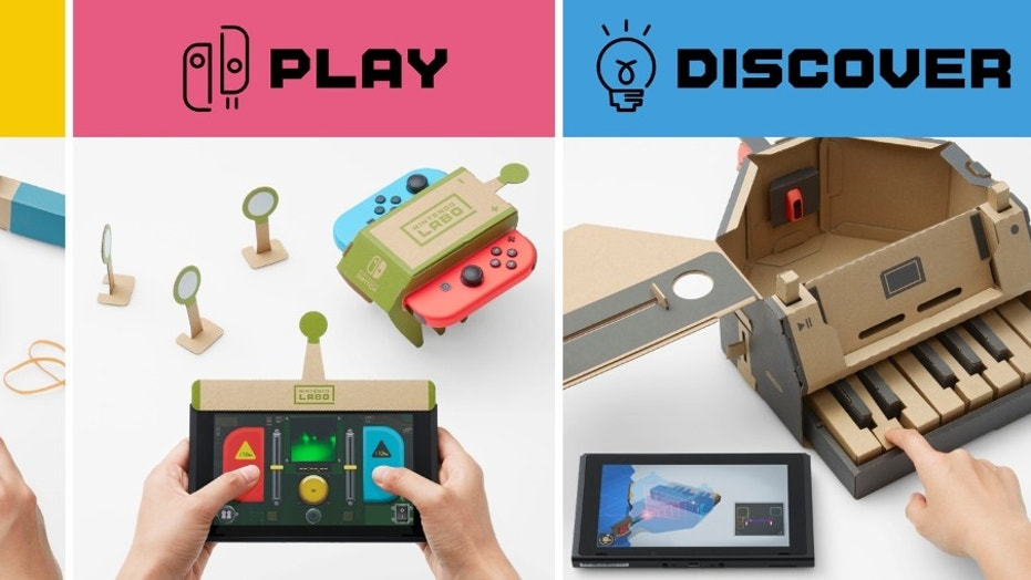 Nintendo Labo Has Me Clamoring for Switch VR
