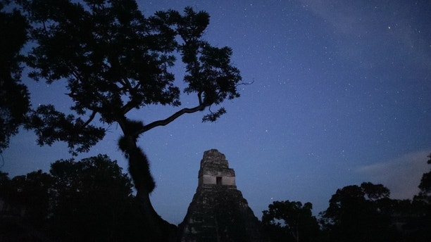 Tikal National Park, Guatemala - Starry sky at night in Tikal National Park (Wild Blue Media/National Geographic)