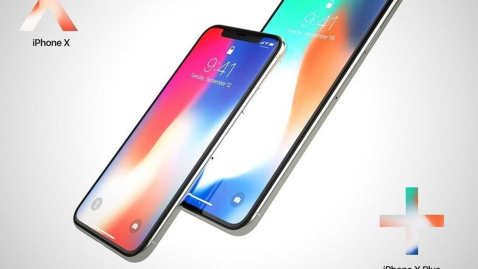 A large iPhone X model  could look something like this concept, which shows the substantial size difference of a 6.5-inch phone compared to the first-gen iPhone X. http://www.martinhajek.com/iphone-x-plus-concept/ (Credit: Martin Hajek)