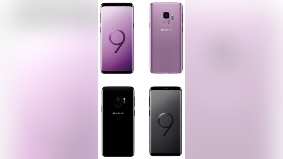 Images of the expected Galaxy S9 and S9+. (Credit: Evan Blass)