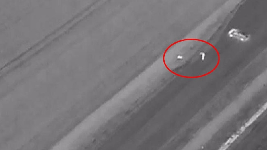 Thermal-imaging drone helps police make miraculous recovery of man in ditch