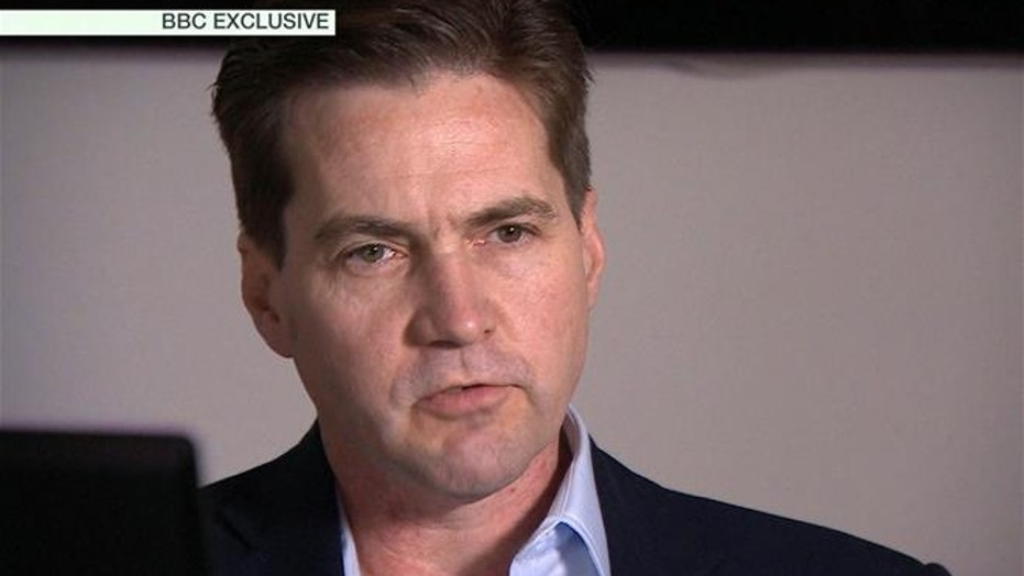 This framegrab made available by the BBC shows Craig Wright speaking in London.