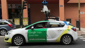 A Google Street View car is seen in a street in Madrid, Spain, May 29, 2017. REUTERS/Sergio Perez - RC184761CE40