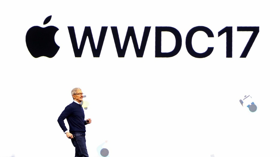 File photo: Tim Cook, CEO, speaks during Apple's annual world wide developer conference (WWDC) in San Jose, California, U.S. June 5, 2017. REUTERS/Stephen Lam