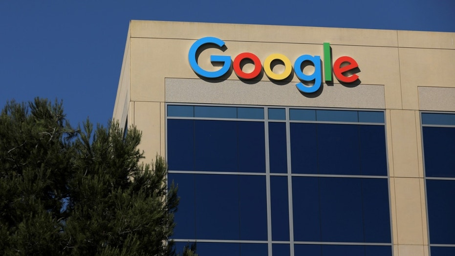 The Google logo is pictured atop an office building in Irvine, California, U.S. August 7, 2017.   REUTERS/Mike Blake - RC17D72E4F60