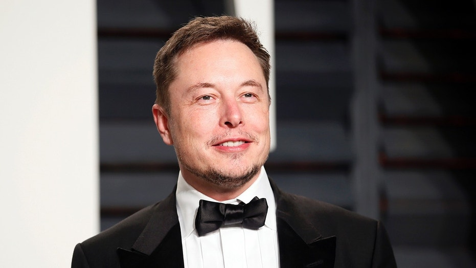 "Even a dapper looking Elon Musk thinks ""Everything is better with fire."" (REUTERS/Danny Moloshok)"