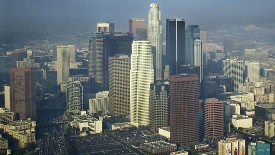File photo - downtown Los Angeles